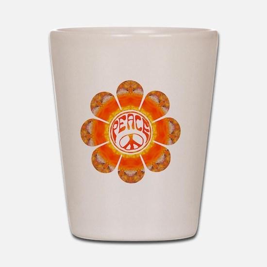 Peace Flower - Summer Shot Glass