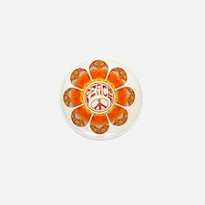 Peace Flower - Summer Mini Button