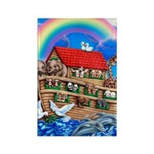 NoahsArk_16x20 Rectangle Magnet