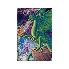 Dragons_Lair_16x20 Rectangle Magnet
