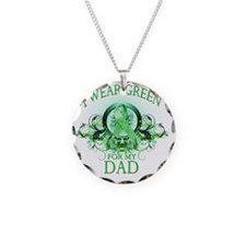 I Wear Green for my Dad (flo Necklace