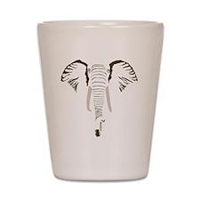 elephant final Shot Glass