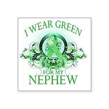 """I Wear Green for my Nephew  Square Sticker 3"""" x 3"""""""