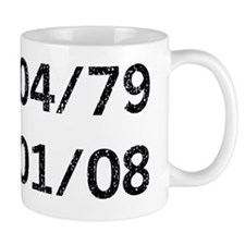 Heath Ledger d blk Small Mug