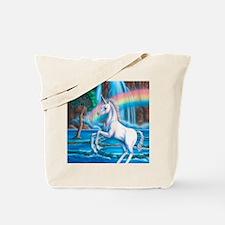 Rainbow_Unicorn_16x20 Tote Bag