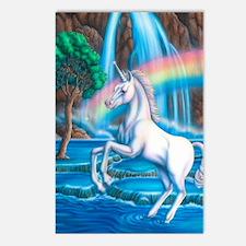 Rainbow_Unicorn_16x20 Postcards (Package of 8)
