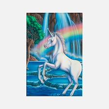 Rainbow_Unicorn_16x20 Rectangle Magnet