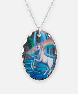 Rainbow_Unicorn_16x20 Necklace