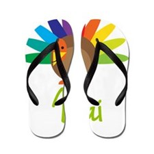 Mai-the-turkey Flip Flops