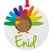 Enid-the-turkey Ornament