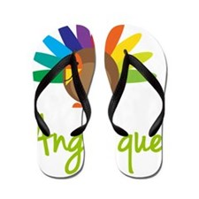 Angelique-the-turkey Flip Flops