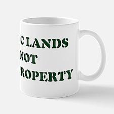 PUBLIC LANDS Mug