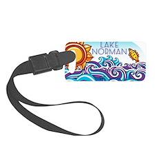 Lake Norman Waves  Sun Luggage Tag