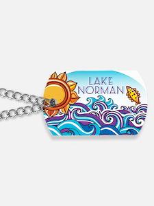 Lake Norman Waves  Sun Dog Tags