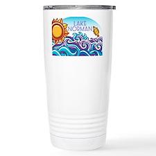 Lake Norman Waves  Sun Travel Mug