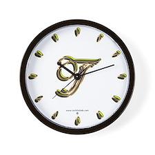 Phyllis Initial T Wall Clock
