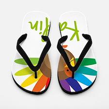 Kaitlin-the-turkey Flip Flops