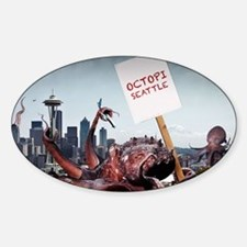 Octopi Seattle Decal