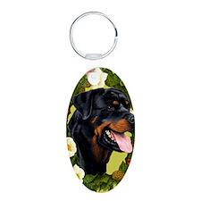 Seasonal Rottweiler Keychains