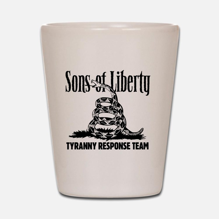 TyrannyResponseTeam Shot Glass