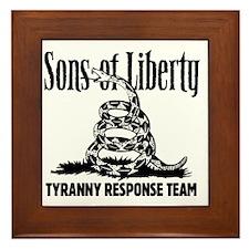 TyrannyResponseTeam Framed Tile