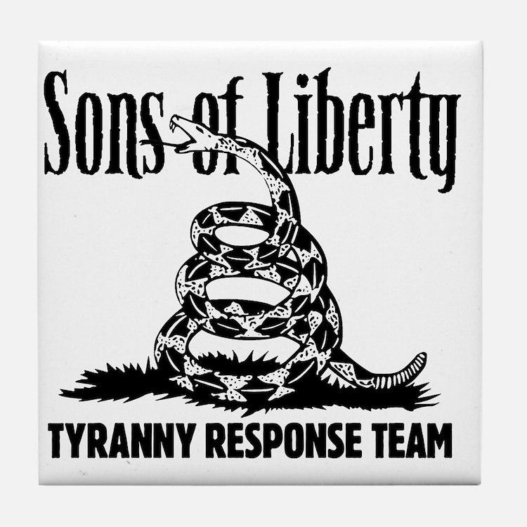 TyrannyResponseTeam Tile Coaster