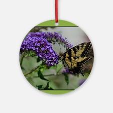 ButterflyhbdayDaughterinlaw Round Ornament
