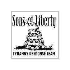 "TyrannyResponseTeam Square Sticker 3"" x 3"""