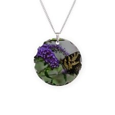 ButterflyhbdayDaughterinlaw Necklace Circle Charm