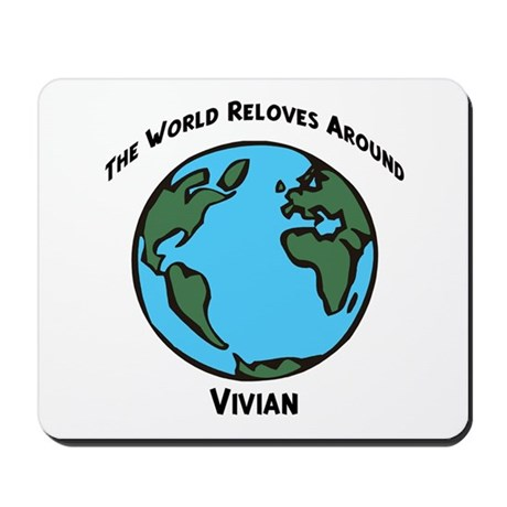 Revolves around Vivian Mousepad
