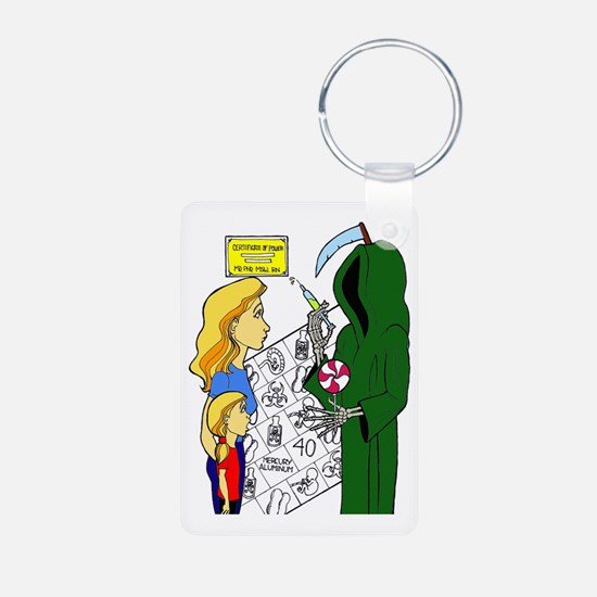 Funny Conspiracy Keychains