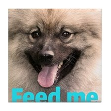 Fozzie Bear Feed Me Apron Tile Coaster