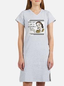 whyyesgrandma Women's Nightshirt