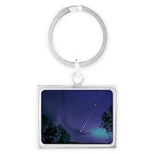 200311eclipse_lunar_over NoCaro Landscape Keychain