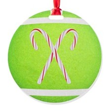 Tennis Ball Ornament, Stocking, Mag Ornament