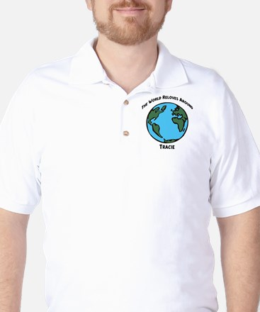 Revolves around Tracie Golf Shirt