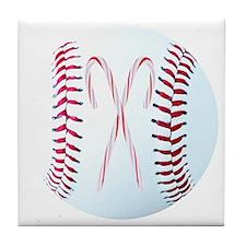 Baseball Christmas Ornaments, Magnets Tile Coaster