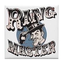 ring-master2-T Tile Coaster