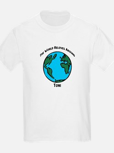Revolves around Toni Kids T-Shirt