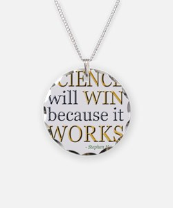 science-win-hawking Necklace