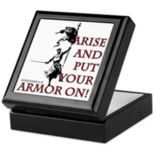put-your-armor-on Keepsake Box