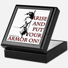 put-your-armor-on Keepsake Box