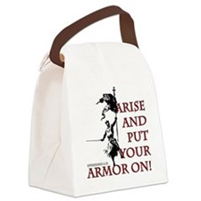 put-your-armor-on Canvas Lunch Bag