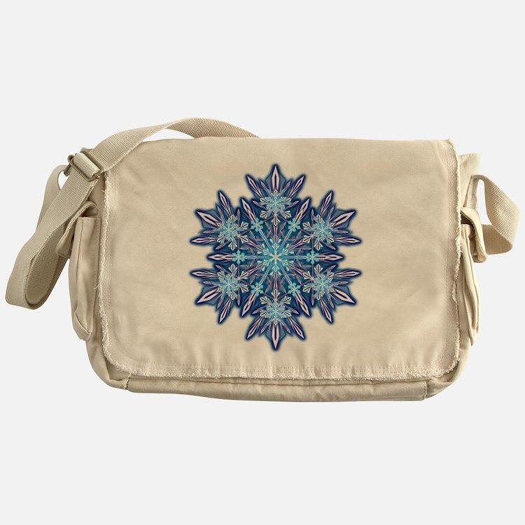 Snowflake Designs - 012 - transparen Messenger Bag
