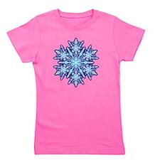 Snowflake Designs - 012 - transparent Girl's Tee