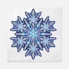 Snowflake Designs - 012 - transparent Queen Duvet