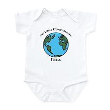 Revolves around Teresa Infant Bodysuit