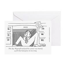 Career v job Greeting Card