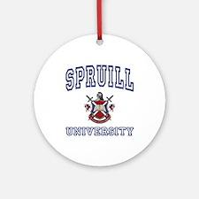 SPRUILL University Ornament (Round)