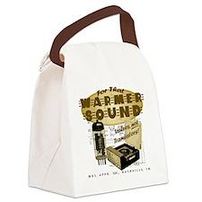 Valve Amplifier Canvas Lunch Bag